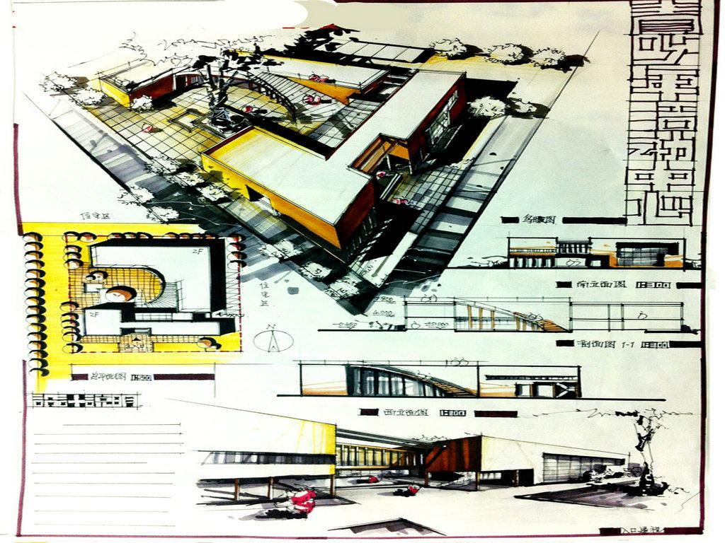 建筑快题设计展示